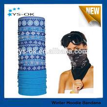 Custom printed magic seamless neck tube scarf bandana