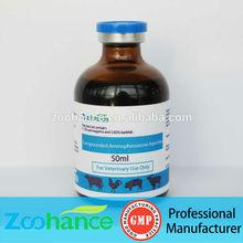 gmp medicina veterinaria aminophenazone agravado de inyección
