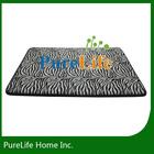 Animal skin printing for nautical bath mat with funny bath mat for memory foam bath mat