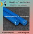 plástico de cor azul nylon duro haste extrudados