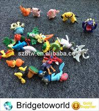 Mini animal toys for kids plastic product snake rabbit bird