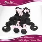 100% unprocessed human hair Body wave, peruvian virgin hair