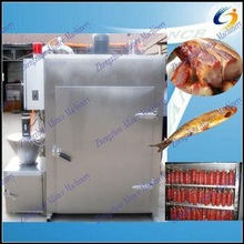 Full automatic bacon smoker chamber/ chamber for making smoked fish,chicken,meat,sausage,pork,salami,food