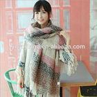 Hot Sale!!2014 Fashional Simple Style High Quality Warm Women Woolen Yarn Scarf