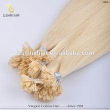 super quality Italian glue remy cheap wholesale double drawn virgin keratin fusion human hair extensions