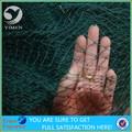 China fábrica de abastecimento black bird net para a captura de aves made in china/anping de pássaros de plástico rede de proteção, tração anti net pássaro, pp,
