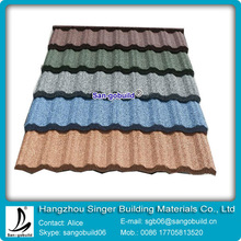 2014 Hot Sale Aluminium-Zinc Roof Tile for Coated Steel Material Roof