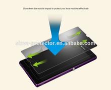 Anti-spy/Privacy 0.33mm tempered glass screen film for sony l39h/l36h/z3/z2/z1/z1 mini/z2 mini/z3 mini free sample