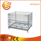 Euro box pallet galvanized metal collapsible storage euro box pallet