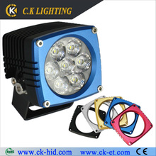 high lumen rectangle led driving lights 4x4 offroad accessories