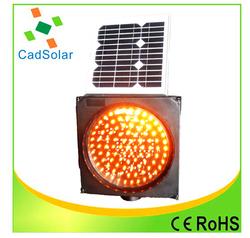 traffic solar LED strobe light super bright traffic safety yellow flashing light