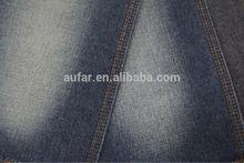 Aufar 3/1 twill dyed 11oz cotton cross hatch denim fabric