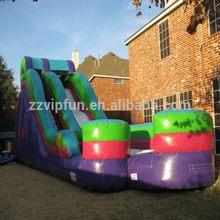 2014 best selling large land inflatable slide