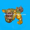 fait à la main en céramique lion chinois