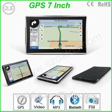 Universal 800*480 with free map HD car gps navigation 7 inch car gps navigator