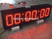 Red Color led digital clock display