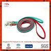 color stripe fashion soft handle dog leash