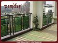 los precios de aluminio accesorios de la barandilla para balcones