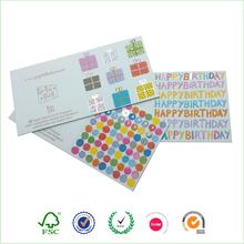 Paper craft sample handmade birthday card