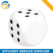 Hotselling Promotional PU Squeeze Toys Stress Dice Printed