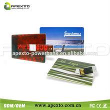 2015 hot sale card usb flash drive