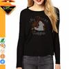 Manufacturers wholesale women t shirt and hot fix motif