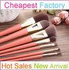7pcs Wholesale cosmetic brush kits High Quality Cosmetic Brush