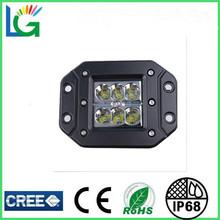 2014 Car Accessory 3 Inch LED Work Light 18W Flush Mount 12V Automotive LED Light