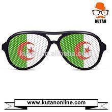 Fashion hot selling printed lens pixel pinhole sunglasses