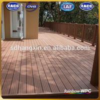 diamond penny board/wooden railing for balcony/wpc board