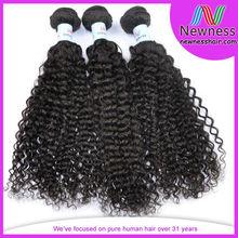 Wholesale virgin peruvian jerry curl hair style