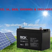 Good Quality Dry Cell Solar Battery Battery Deep Cycle Solar Cheap Solar Battery 12V80Ah