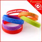 silicone rainbows loom bracelet/mini rubber band
