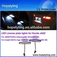 E-mark approved OEM led number plate light,car led tail lamp For Honda JAZZ Odyssey