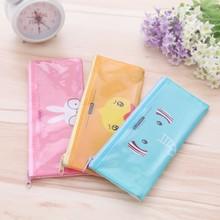 Korea Cute transparent cartoon pen bag (s)