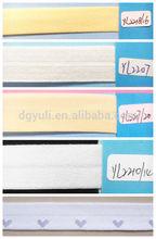 90% Elastic Fold Over Band, 10% Spandex Elastic Tape