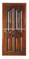 Antique European Style Carve Wood Door Panel, Swing Door in Custom Size - BF11-1023c