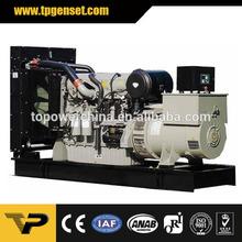 Open type Three Phase 50HZ 600kva new design Diesel Generator Powered by Perkins
