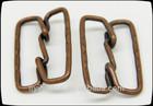 customized brass belt buckle for decoration, garment buckle
