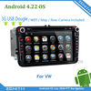 "8"" VW Android 4.2.2 Car DVD PLAYER GPS VW TOURAN CADDY SEAT SKODA with 3G Dougle Wifi"