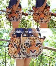 Wholesale hot china alibaba animal printed bag manufacturer,printing animal hand bag (LCHAB11)