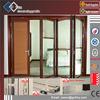 Super clear glass thermal break profile exterior aluminum bifold door