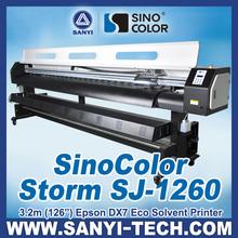 Machine to Print Vinyl Stickers SinoColor SJ-1260