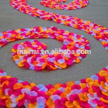 Beautiful Silk Rose Petals Wedding Decoration