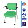 Modern plastic training chair with writing pad