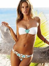 2014 hot quality sexy bandeau bikini