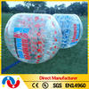 Cheapest price human sized soccer bubble ball, hamster ball for kids and human-sized hamster ball