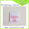 alta densidade de tecido adamascado etiqueta de corte a laser de tecido fitas