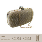 2015 hotsale lady swarovski crystal stone evening bag clutch bag