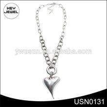 pendent heart hip hop bling bling chain necklace USN0131